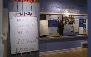 <p>Inside the Moton Museum - courtesy Moton Museum</p>