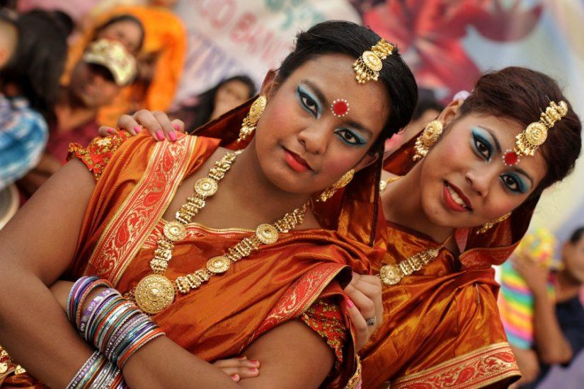 Prio Bangla Festival, Columbia Pike - Photograph courtesy © Lloyd Wolf / www.pikedoc.org