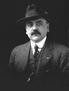 Amadeo Obici, founder of Planters Peanuts.  Photo courtesy of Kevin Sary and the Suffolk-Nansemond Historical Society.