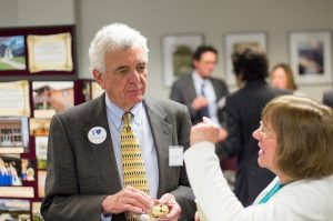 VFH President Rob Vaughan at the Advocacy Reception