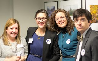 VFH and VAM staff at the Advocacy Reception
