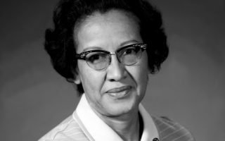 Katherine Johnson, 1971; mathematician assigned to the Space Task Group.