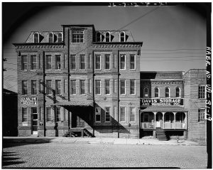 Pemberton & Penn Tobacco Co. warehouse and office building, which was built in Danville, Virginia, from 1885–1890. - Image courtesy Library of Congress