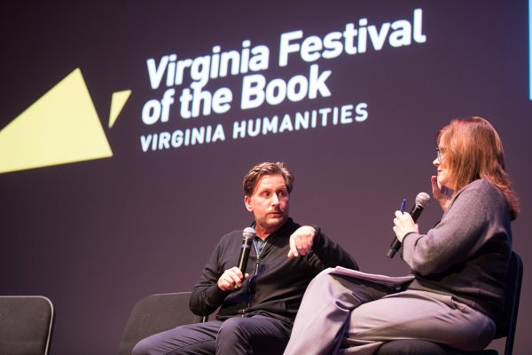 The Virginia Film Festival and the Virginia Festival of the Book welcomed actor, writer, director, and producer Emilio Estevez for a screening of his film 'The Public' at The Paramount Theater, as part of the 25th anniversary Virginia Festival of the Book.