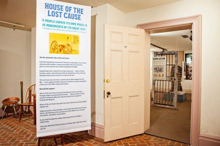 Lost Cause Exhibit entryway