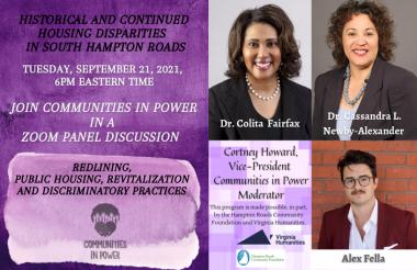 Communities in Power Event Flyer